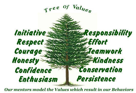 Values at Summer Camp